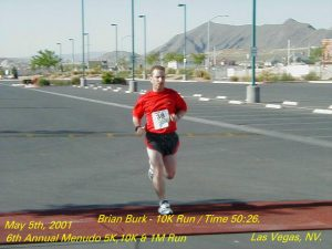 My thrid race but the first that I have a finishing picture